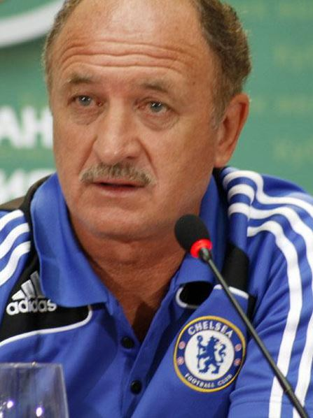 Brazil coach Luiz Felipe Scolari is not worried about Neymer's fitness