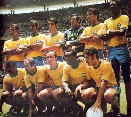 Pele expects Brazil to stage a fantastic World Cup, Brazil team 1970