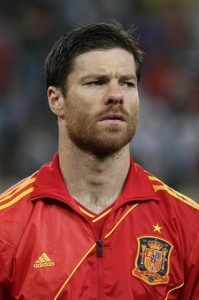 Real madrid midfielder Xabi Alonso missing the Champions League final