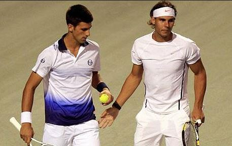 Rafael Nadal and Novak Djokovic are through to the Rome Masters final, rome tennis