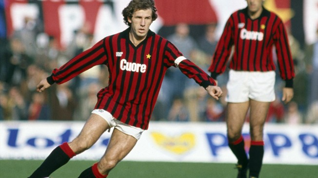 italian footballers, Franco Baresi, italian league