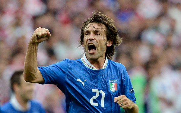pirlo, oldest player, italy national team