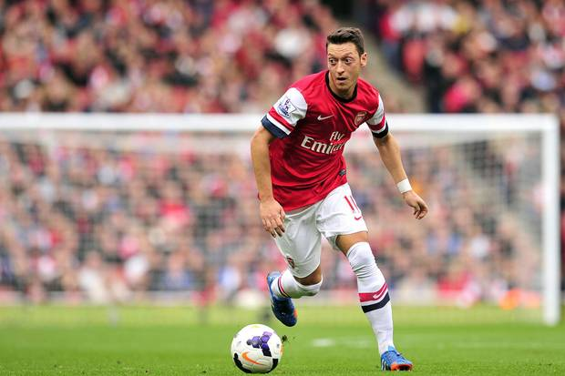 10 highest paid footballers, Mesut Ozil