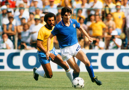 italian footballers, paolo rossi, italian national football team