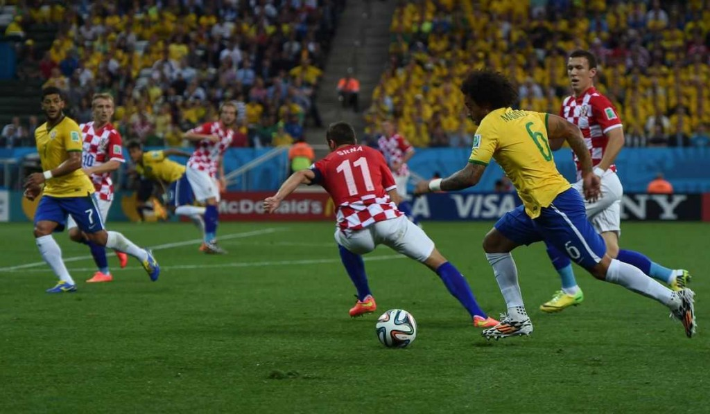 Brazil vs Croatia: Neymar and Oscar turns the World Cup Opener on their favor, Brazil vs Croatia, world cup opener