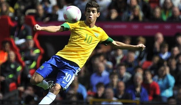 Oscar, attacking mid, number 10 Brazil