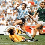 Germany's World Cup history against Argentina
