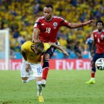 Brazil Vs Colombia: Neymar Jr. is out of the world cup with the broken back