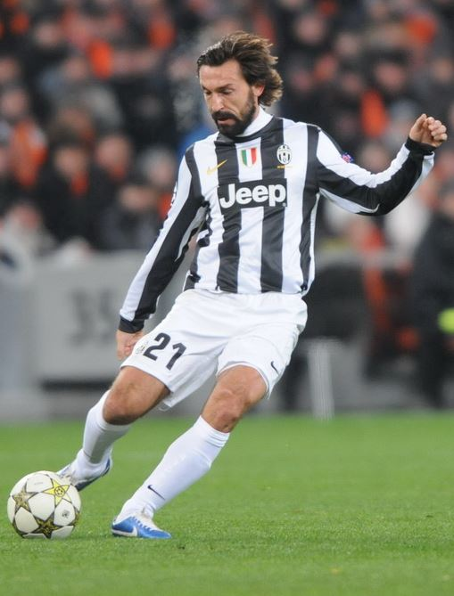 Top 10 highest paid soccer players in Serie A 2014, Andrea Pirlo, italian midfielder, juventus star