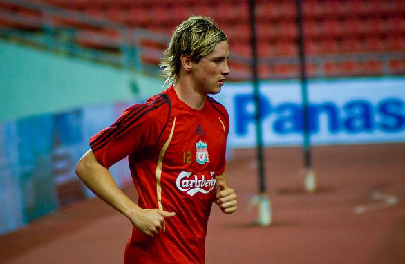 Top 10 highest paid soccer players in Serie A 2014, Fernando Torres ,  spanish striker