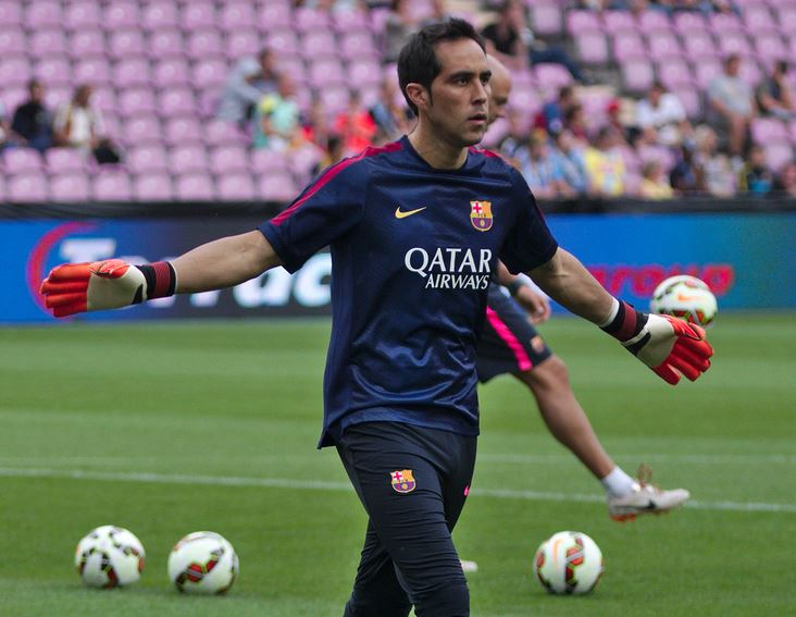 Top 10 Most Valuable Backup Goalkeepers in Soccer, Claudio Bravo