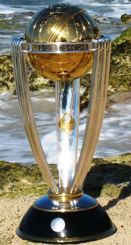 ICC Cricket world cup statistics and History, trophy,