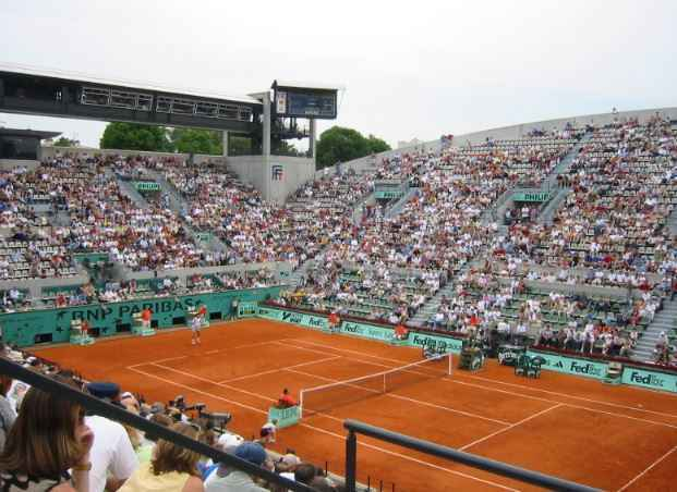 Top 10 Best Indoor Tennis Courts in The World | Tennis Court Surfaces, Court Philippe Chatrier