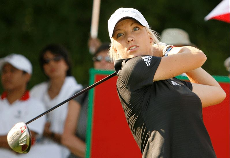 Top 10 Hottest Female Golfers in the World 2015, Melissa Reid
