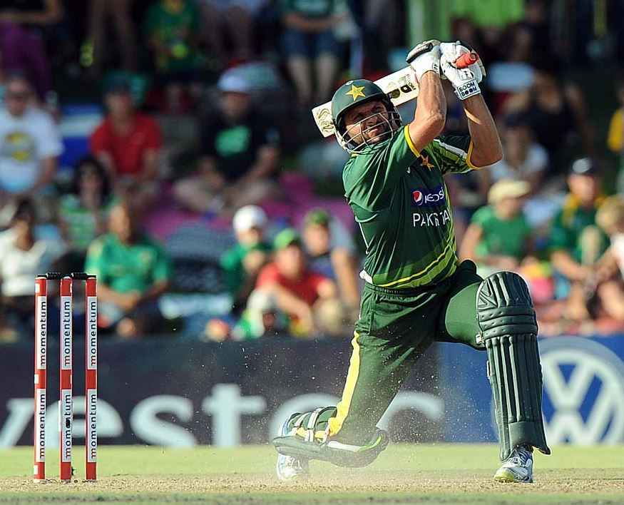 Top 10 Batsmen with Most Sixes in ODI Cricket, Shahid Afridi