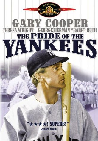 Top 10 Best Sports Movies of All time, The Pride of the Yankees
