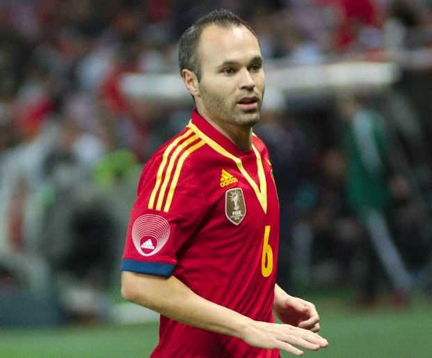 World Football Hall of Fame 2015 Members, Andrés Iniesta