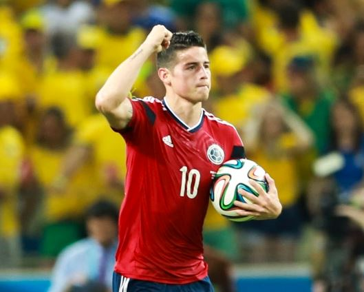 World Football Hall of Fame 2015 Members, James Rodriguez