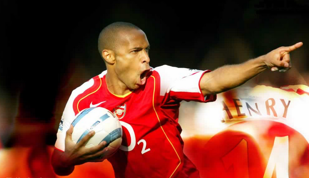 Premier League All time Top Goal Scorers, thierry henry