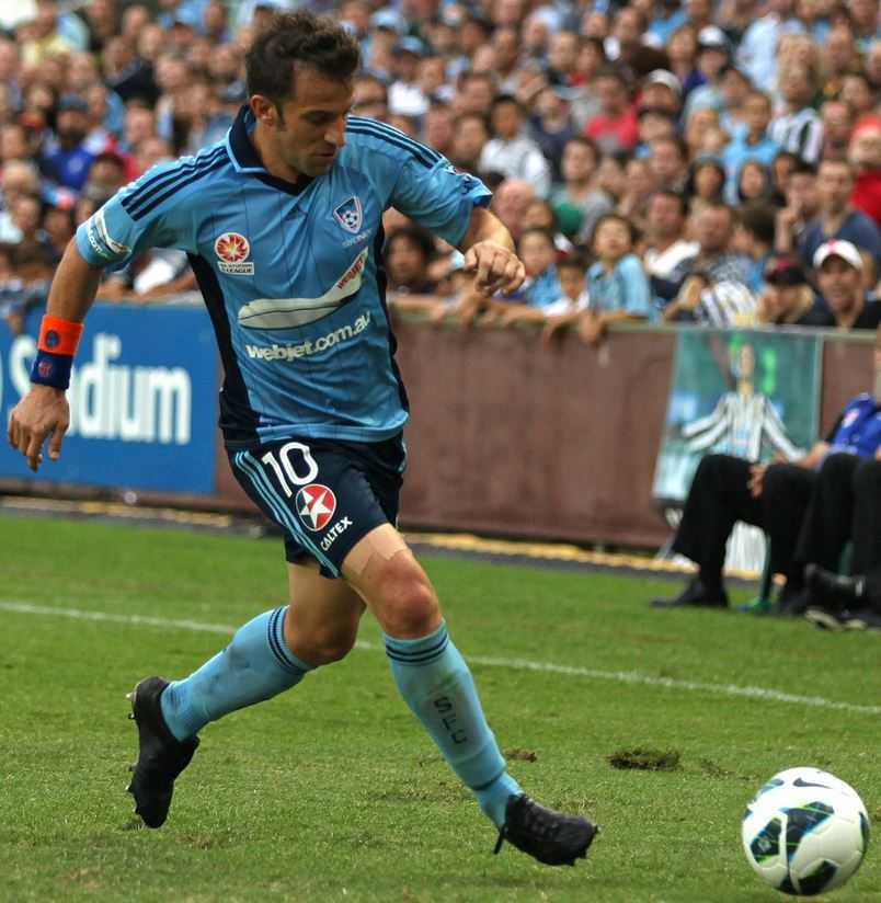 Serie A Top Goal Scorers of All time, Alessandro Del Piero