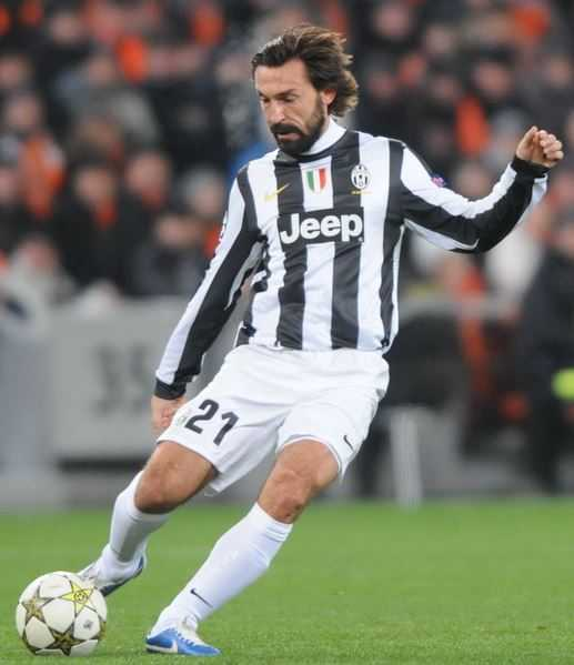 Top 10 Best Penalty Takers in Football World, Andrea Pirlo