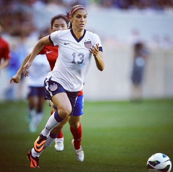 Top 10 Best Female Soccer Players of all time, Alex Morgan