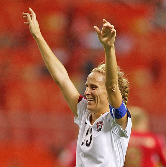 Top 10 Best Female Soccer Players of all time, Kristine Lilly