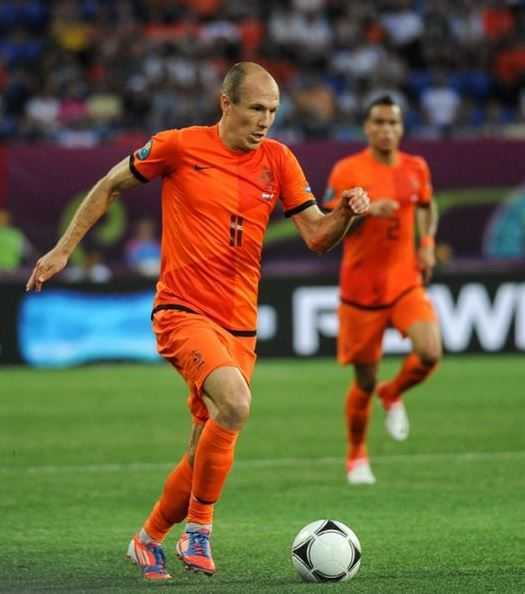 Arjen Robben, fastest footballers in the world