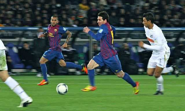 Lionel Messi, top 10 fastest footballers in the world