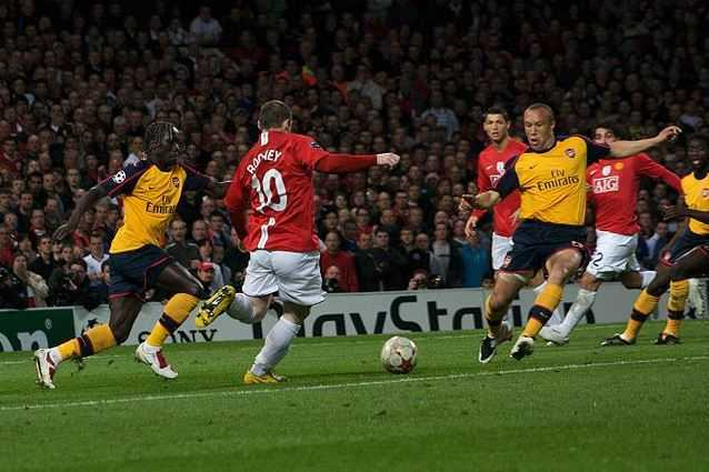 Wayne Rooney, top 10 fastest football players