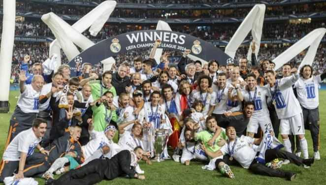 Real Madrid celebrates La Decima, Real in UCL