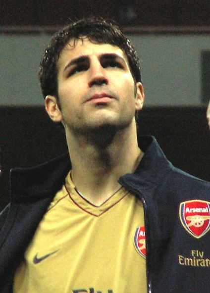 Cesc Fabregas, hottest football players