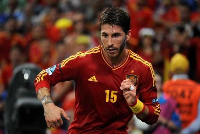 Sergio Ramos, sexiest football players
