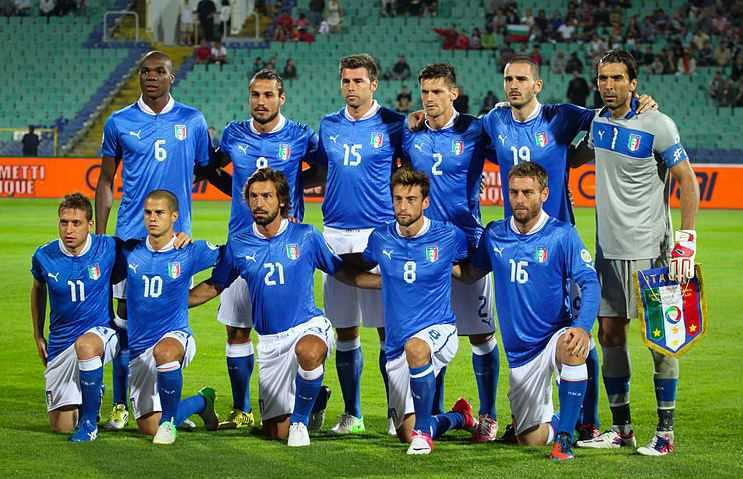 Italy national team, top teams in Euro 2016