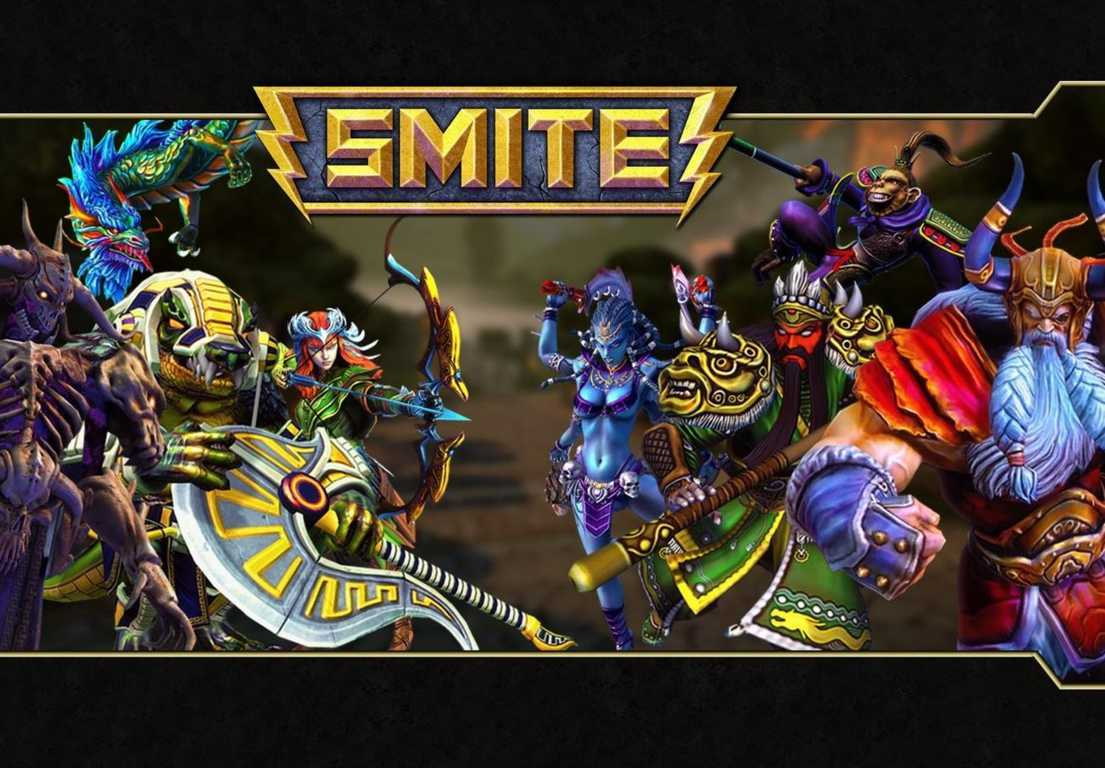Smite, most played video games