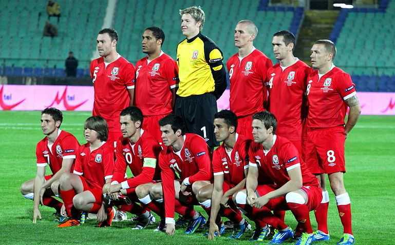 Wales national team, powerful team in Euro