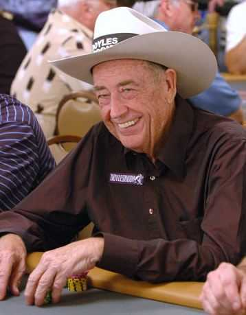Doyle Brunson, best poker players